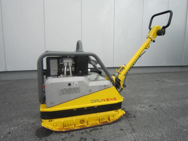 Rüttelplatte Wacker Neuson DPU 4545 He